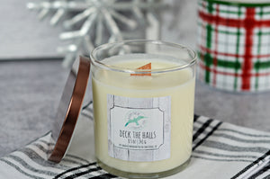 Deck the Halls - Wood Wick