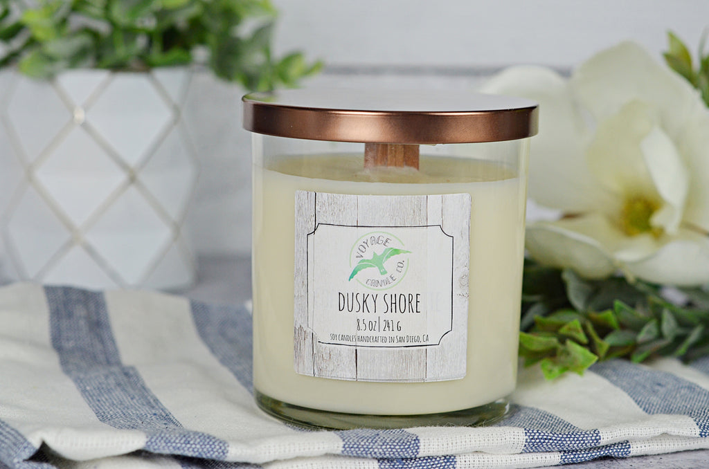 Dusky Shore - Wood Wick