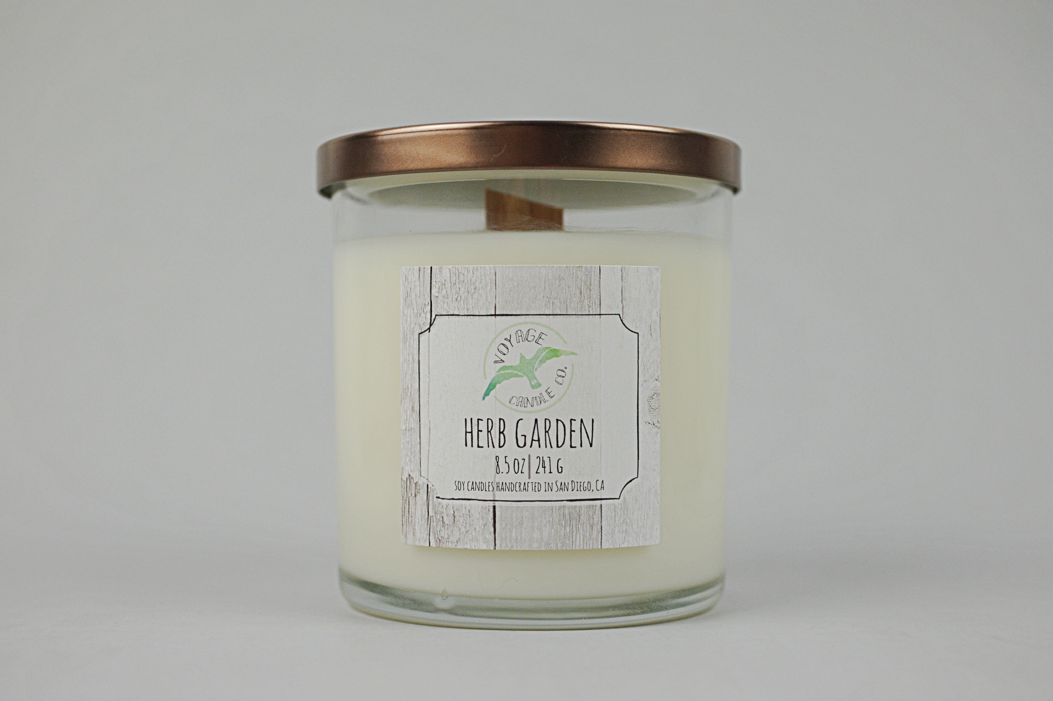 Herb Garden - Wood Wick - Voyage Candle Co.