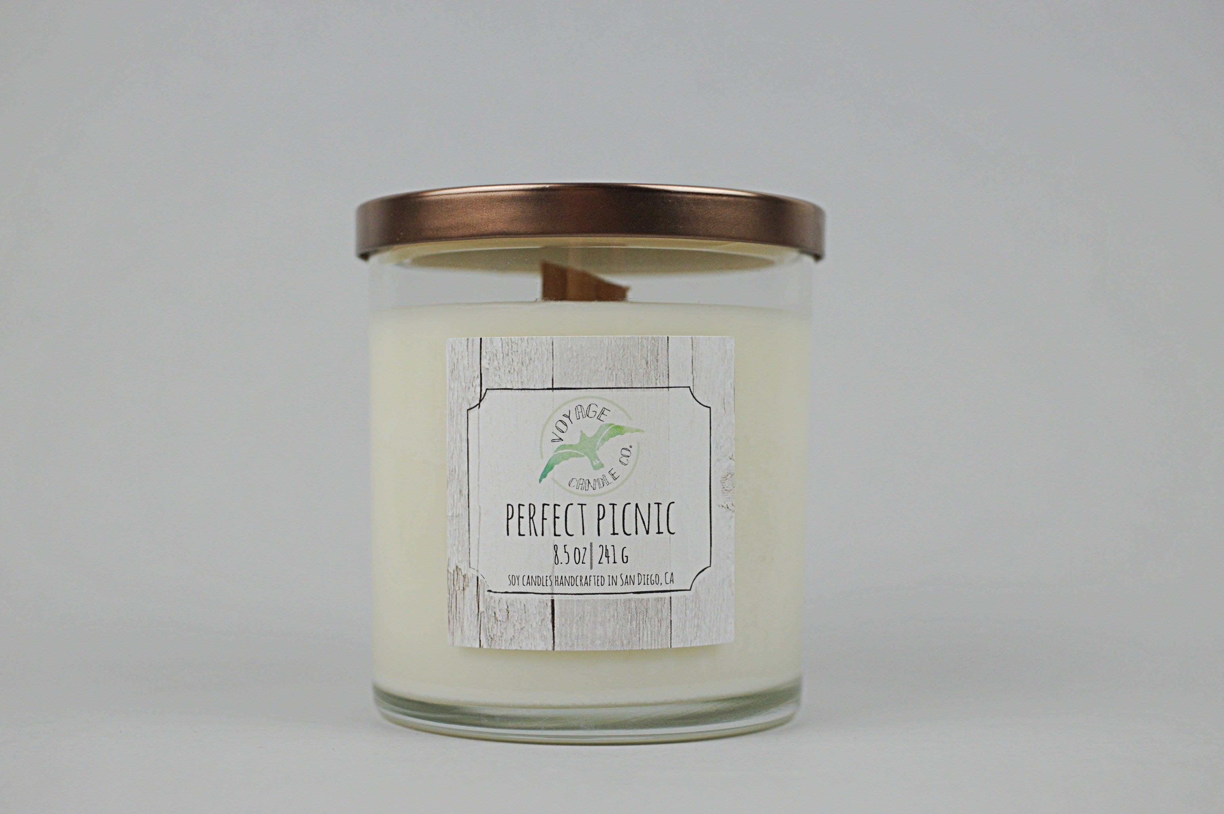 Perfect Picnic - Wood Wick - Voyage Candle Co.