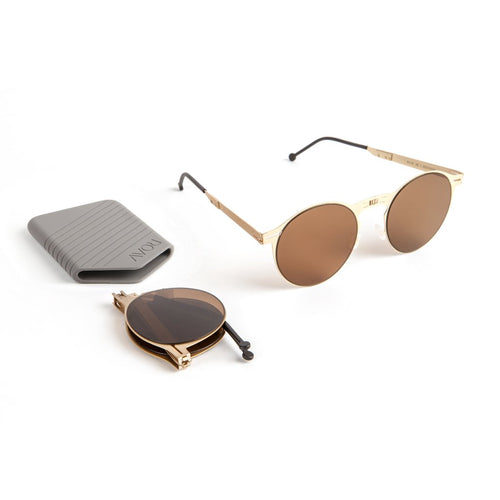 ROAV Balto Brushed Gold Frame / G15 Lens