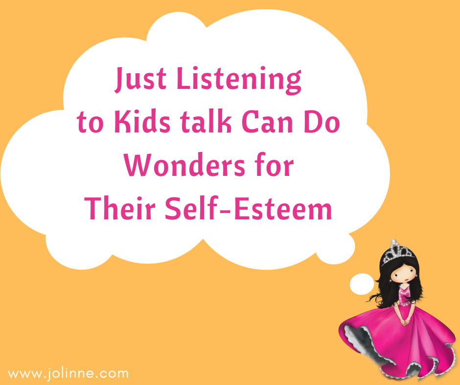 Growing happy kids tips - Tip #4 - Just listen to your kids talk