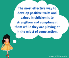 Growing happy kids tips - Tip #8 - Complimenting