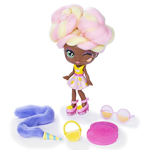 Candylocks 7-Inch Lacey Lemonade, Sugar Style Deluxe Scented Collectible Doll with Accessories