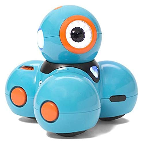 Wonder Workshop Dash – Coding Robot for Kids 6+ – Voice Activated – Navigates Objects – 5 Free Programming STEM Apps – Creating Confident Digital Citizens