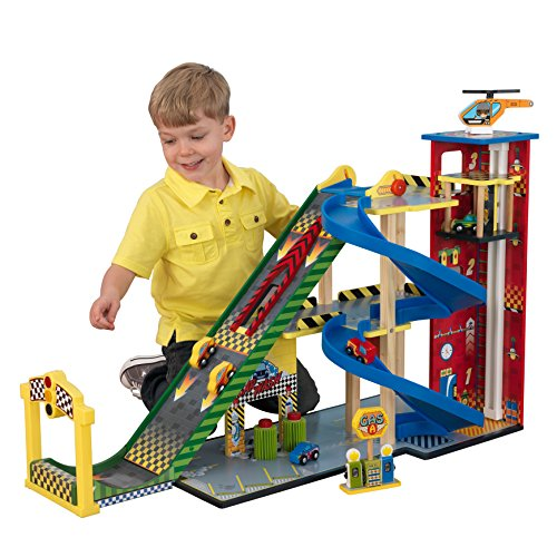KidKraft Mega Ramp Racing Set, Multi