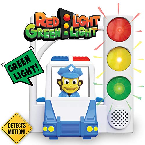 Red Light Green Light with Motion Sensing - Get Kids Active with 3 Different Kids Games, For Kids Ages 4-8 Or A Toddler Game