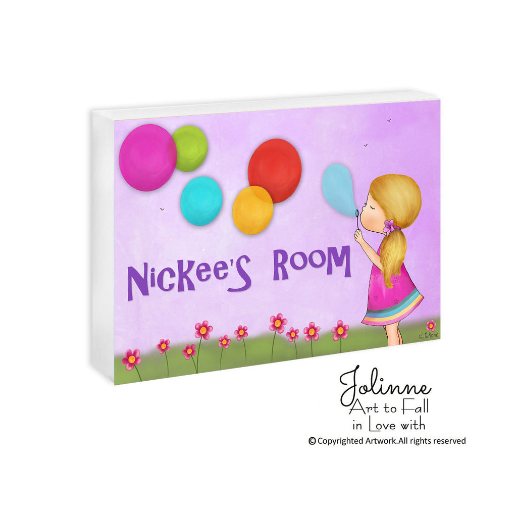 Personalized Sign GIRLS - Jolinne