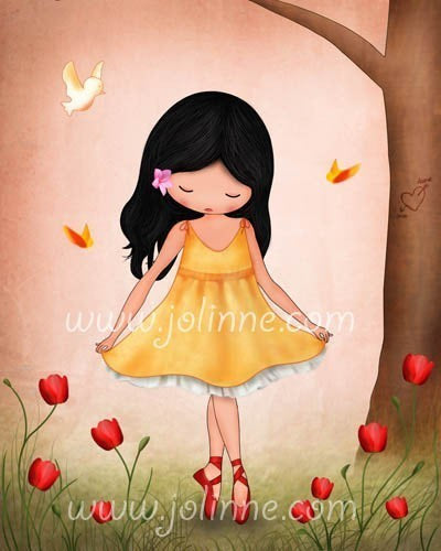 GIRLS Room Wall Art - Jolinne