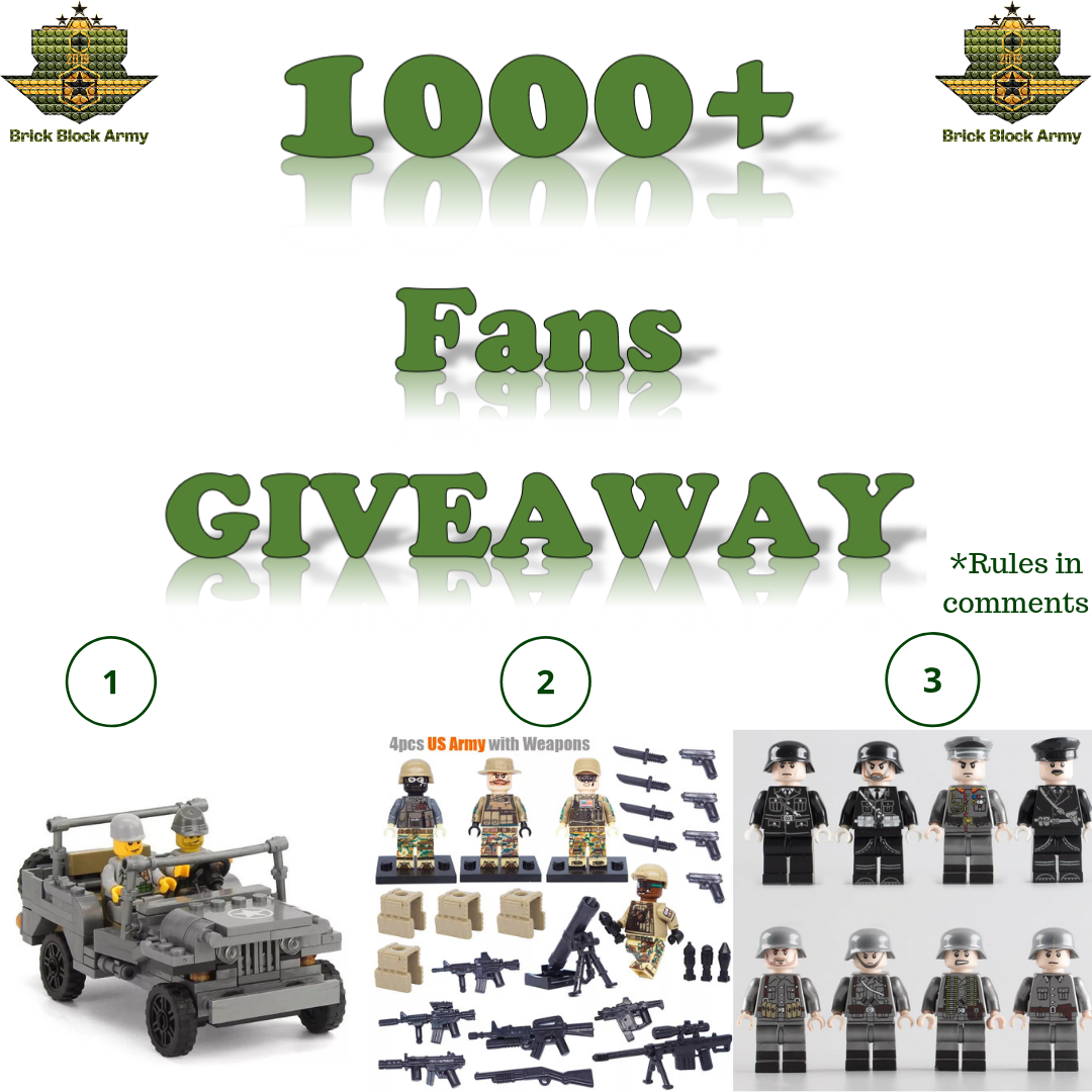 Our Special 1000 Instagram Follow Giveaway is now active.