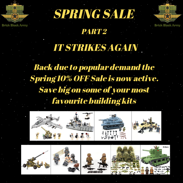 PART 2 SPRING SALE SPECIAL