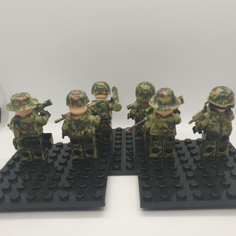 compatible with lego army minifigs
