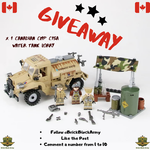 WW2 Canadian CMP C15A Water Tank Lorry giveaway build