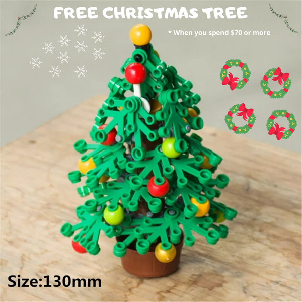 compatible lego Christmas tree free giveaway