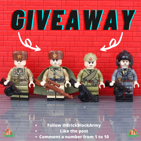 Soviet Infnatry Squad Giveaway @BBA