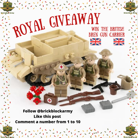 British Bren Gun Carrier Kit Giveaway