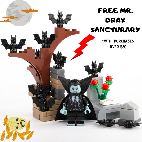 compatible lego Halloween build kit