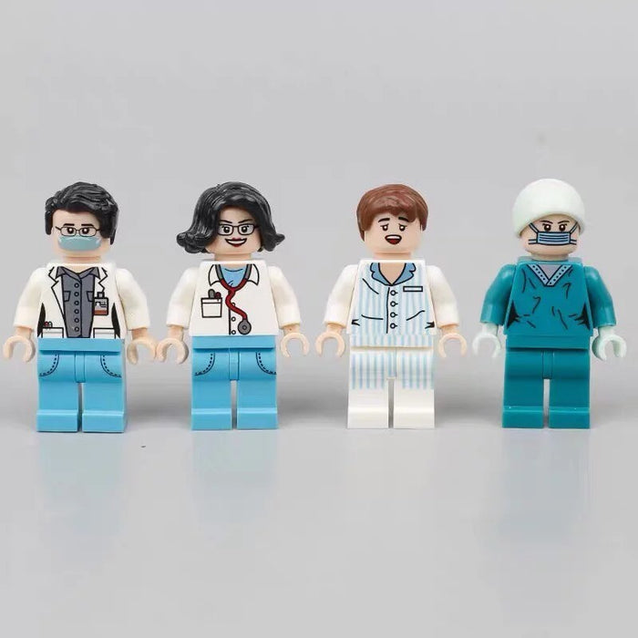 health care worker toy figures