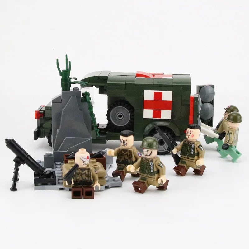 US army medics and 101st airborne
