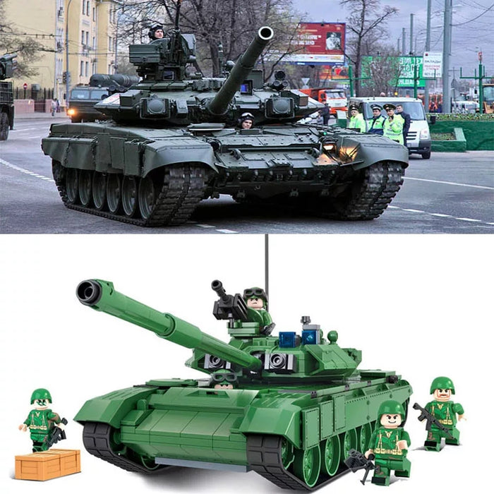T-90 army tank toy