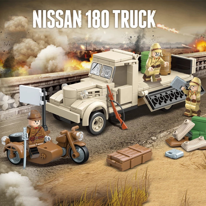 The Japanese ww2 Nissanes 180 truck