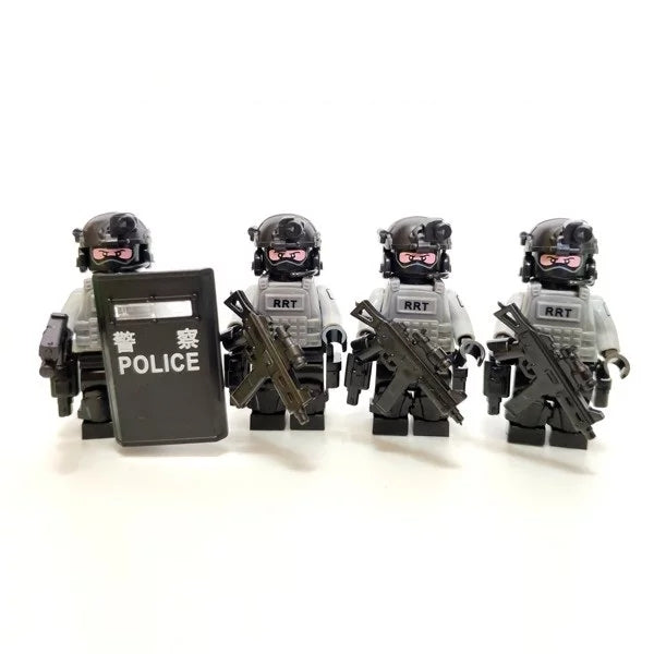 custom lego RRT HK figures