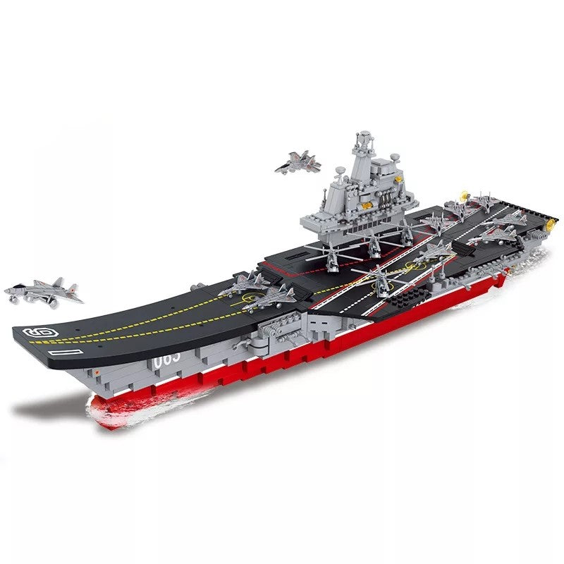 compatible lego Chinese aircraft carrier type 1