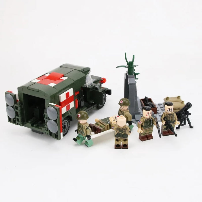 WW2 US Army Military Medic Team