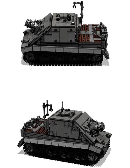 Custom MOC brick built German Sturmtiger