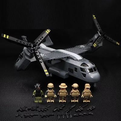 V-22 osprey army toys building kit