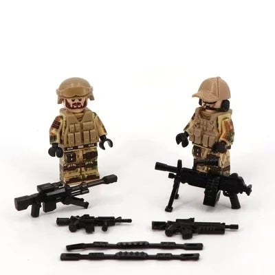 US army compatible lego minifigs