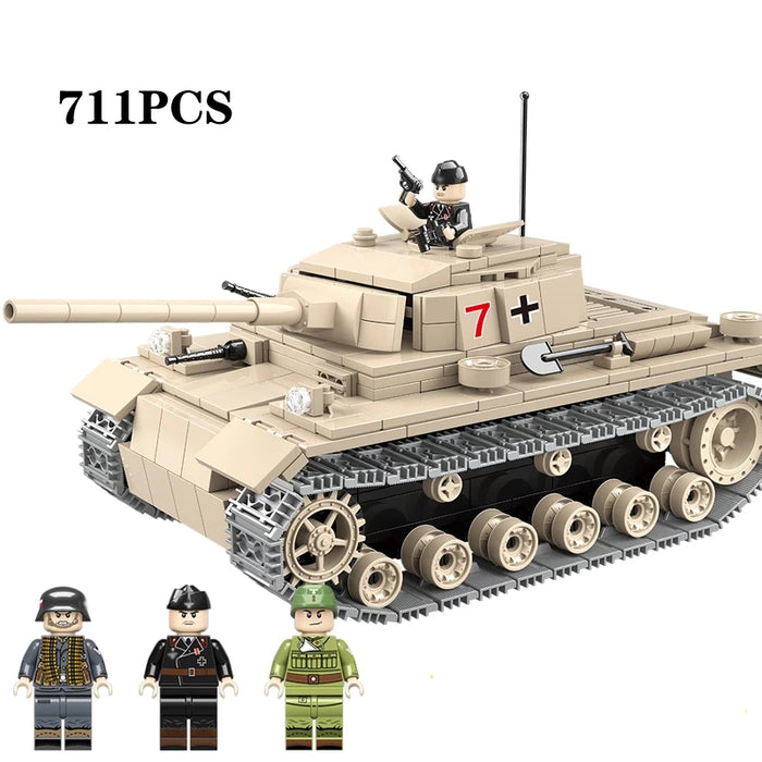 WW2 German Panzer III Ausf. J Medium Tank