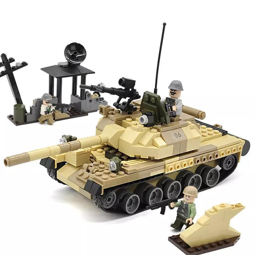army toy tank building block toys