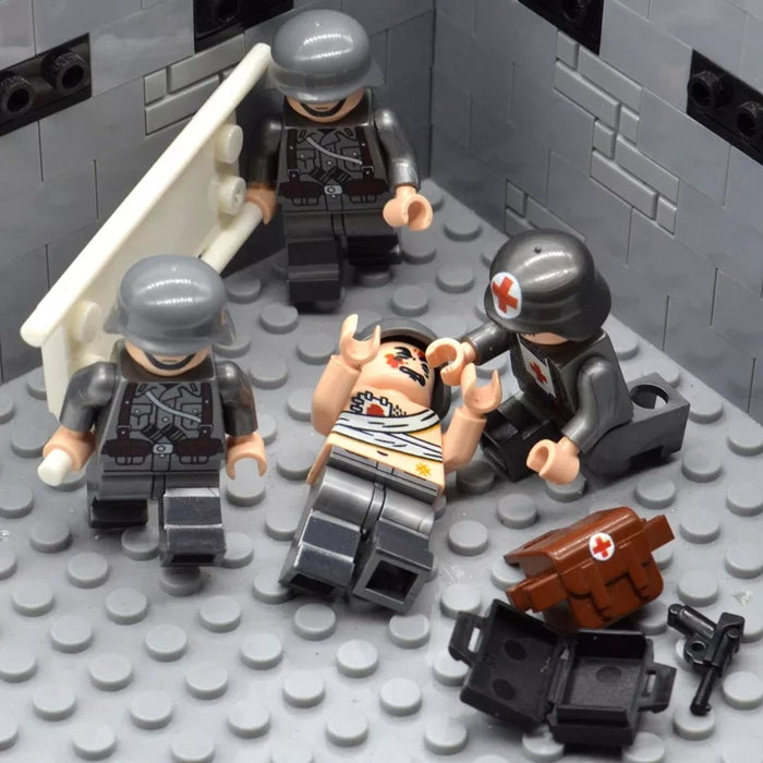 compatible lego army ww2