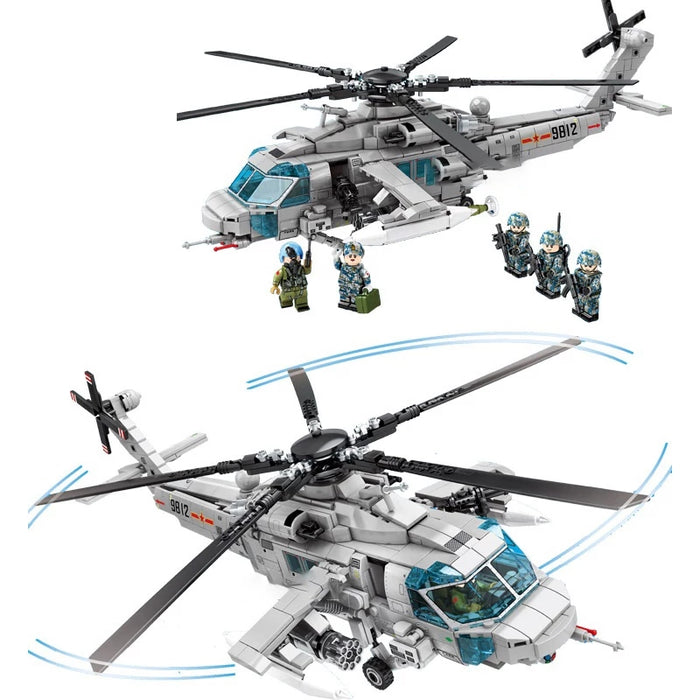 Custom PLAAF Z-20 Helicopter kit