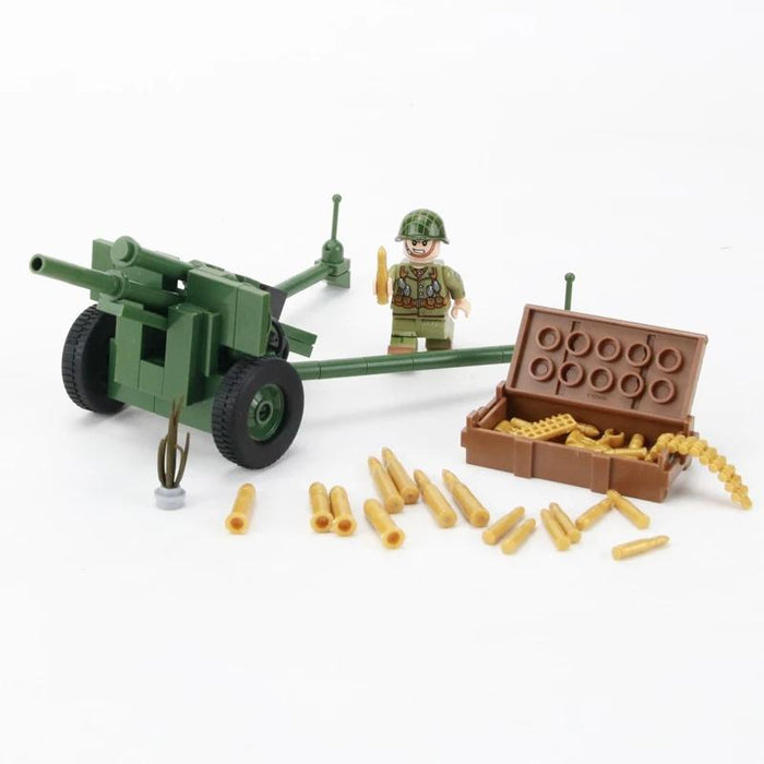 Custom building bricks US Artillery