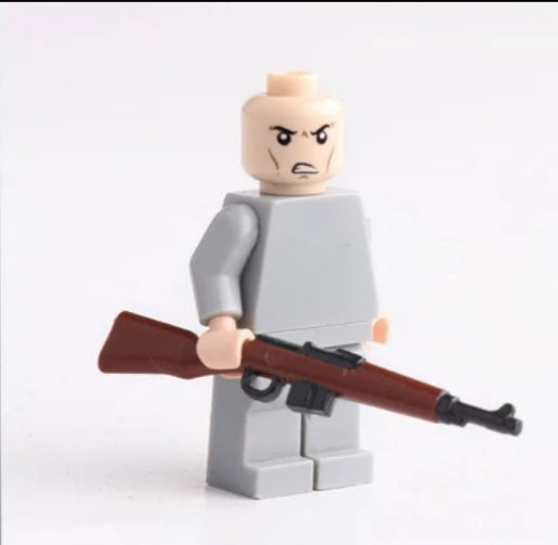 compatible lego Gewehr-43 semi-auto rifle