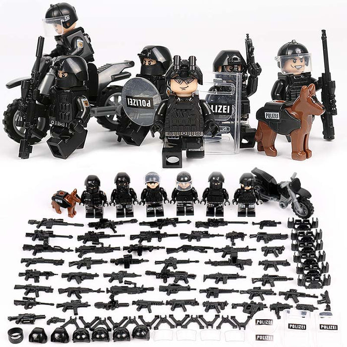 German GSG 9 Figures