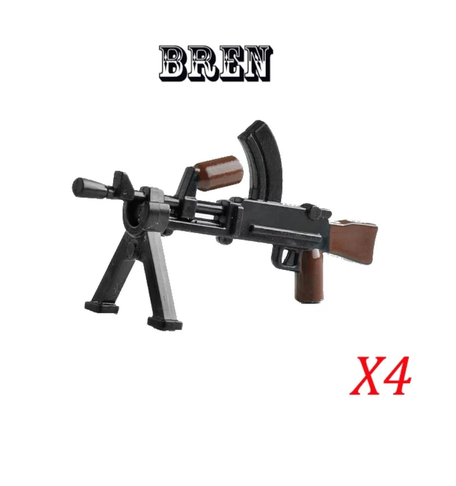WW2 British Bren Light Machine Guns x4