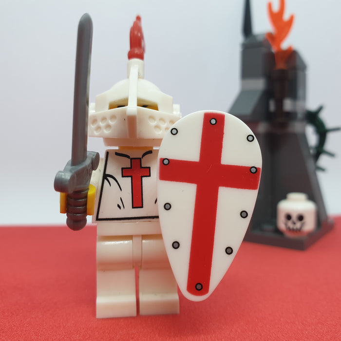 compatible crusader minifigure