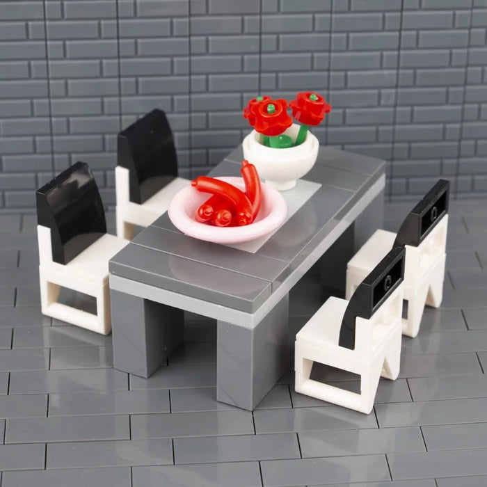 lego compatible dining table