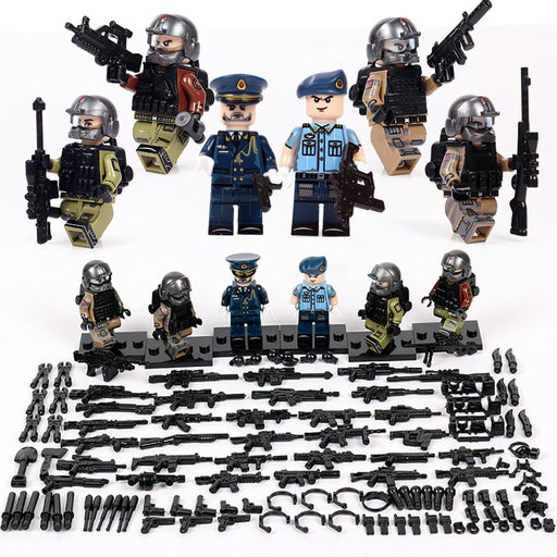 PLAAF Air Defence Guards (ADG) figures