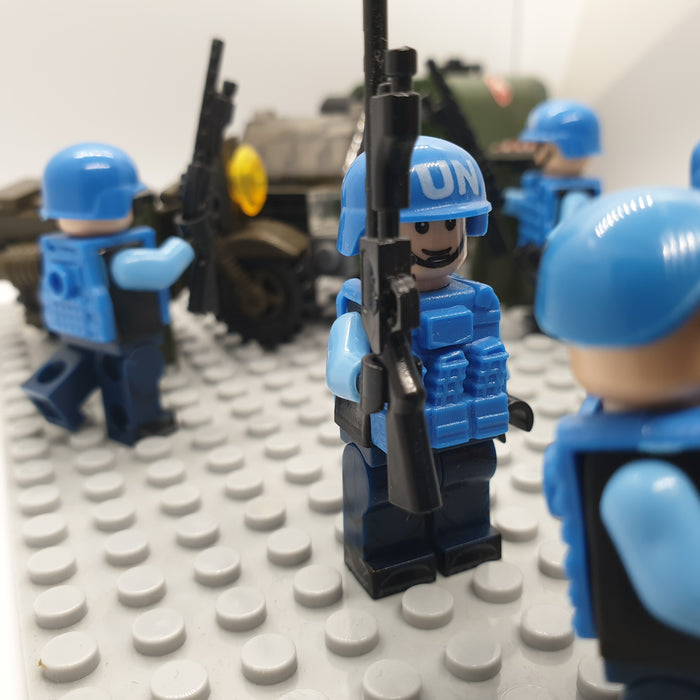 custom lego UN Peacekeepers