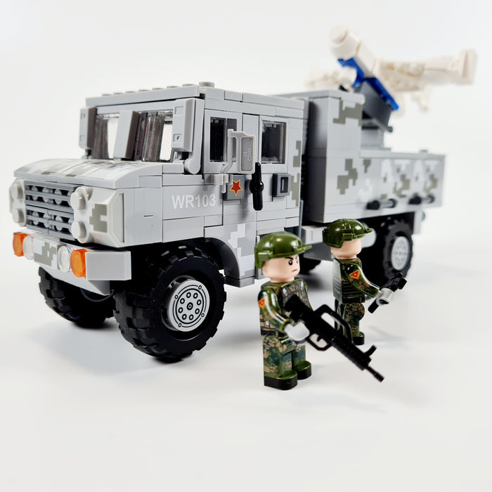 PLA BZK-008 UAV and WR103 Transport Truck build kit