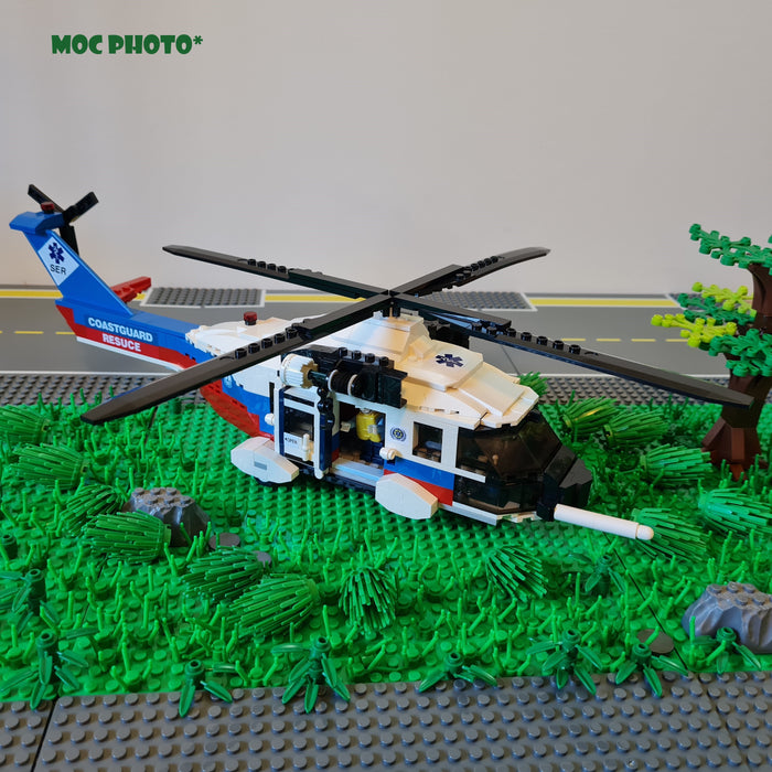 Coast Guard Rescue Helicopter MOC