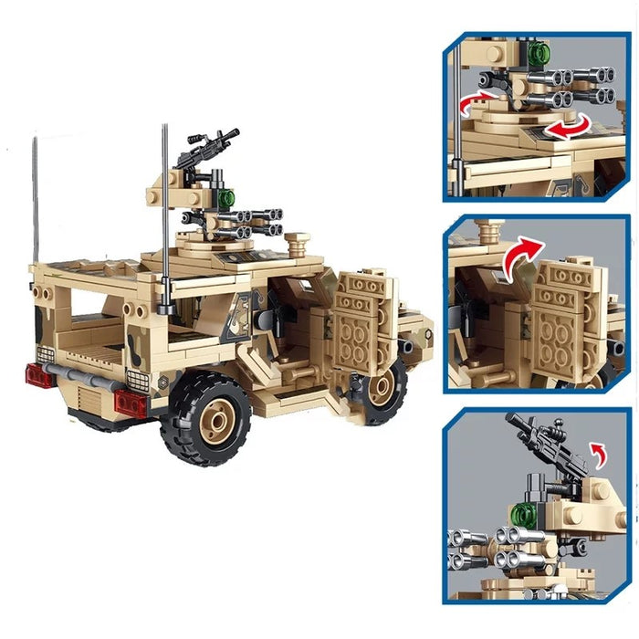 PLA VP-11 Defender MRAP build kit Chinese army