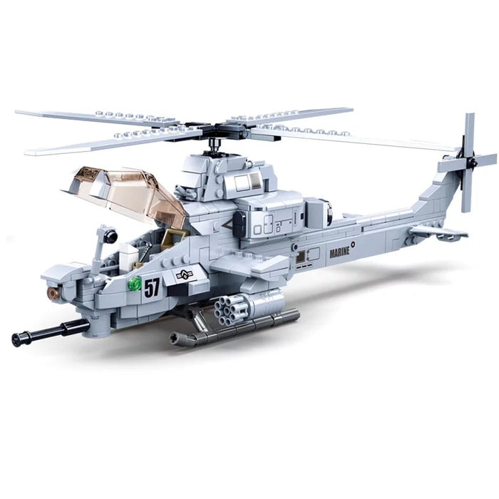 US Military AH-1Z Viper Attack helicopter