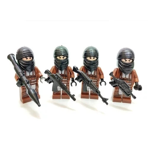 custom lego guerrilla figs