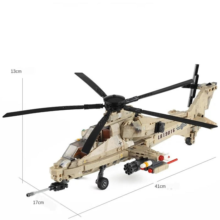 Custom PLAGFAF WZ-10 Attack Helicopter KIt