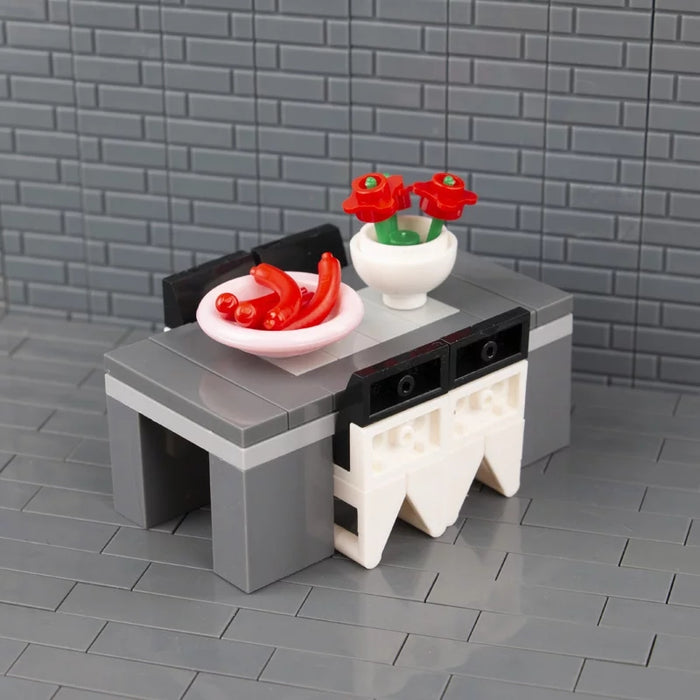 compatible lego dining table